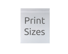 Artist / Photography Print Size Compostable Bags
