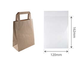 Paper & Clear Bags