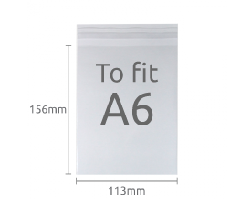 Bio-degradable A6 Display Bags