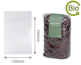Clear Bio-degradable and Compostable Bags