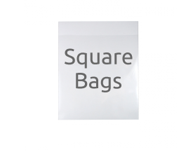 Bio-degradable Square Display Bags