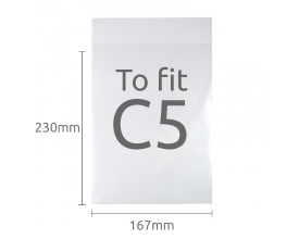 C5 Clear Display Bags