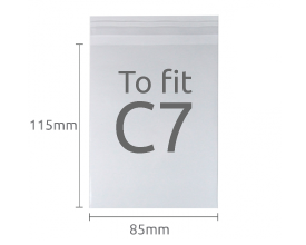 C7 Clear Display Bags