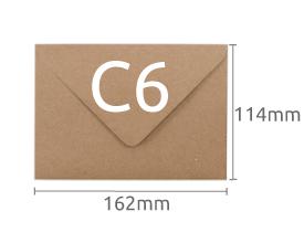 C6 (114x162mm)