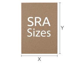 SRA Size Sheets