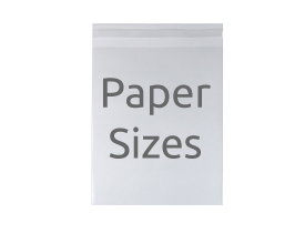 Paper Size Compostable Bags