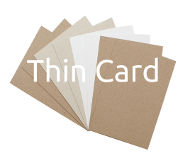 Recycled Thin Card