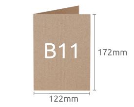 B11 (122 x 172 mm)