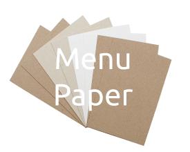 Menu Paper