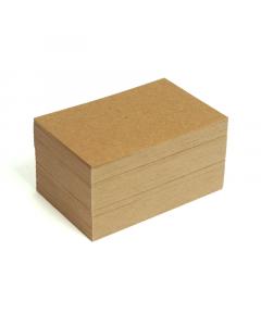 Blank Business Cards 100Pk - 350g HairyManilla