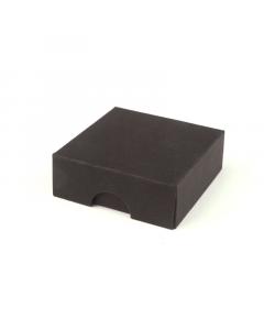 50x50x17mm Box & Lid - Black 10Pk.