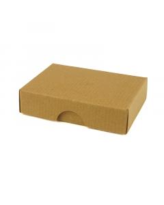 50x70x17mm Box & Lid - Ribbed Brown 10Pk.