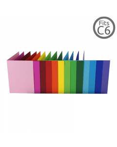 A6 / C6 Card Colours 10 Pk (104x147mm)