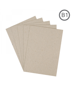 B1 Eco Natural 300g Card 100 Pk