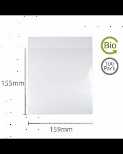 155x159mm Compostable bag 100 Pk