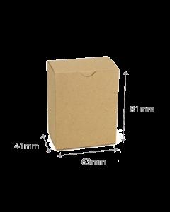 41 x 63 x 81mm Carton - Hairy Manilla 10Pk