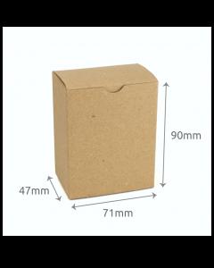 47 x 71 x 90mm Carton - Hairy Manilla 10Pk