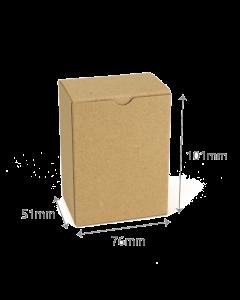 51 x 76 x 101mm Carton - Hairy Manilla 10Pk