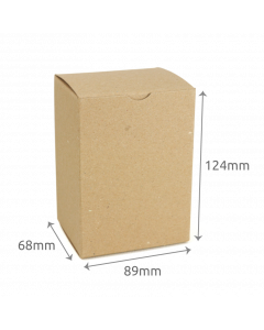 68 x 89 x 124mm Carton - Hairy Manilla 10Pk