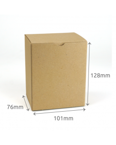 76 x 101 x 128mm Carton - Hairy Manilla 10Pk