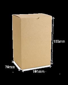 76 x 101 x 155mm Carton - Hairy Manilla 10Pk
