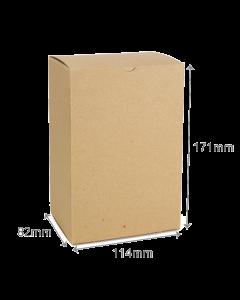 82 x 114 x 171mm Carton - Hairy Manilla 10Pk