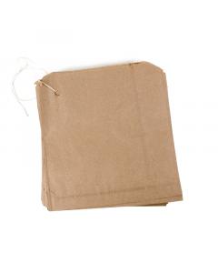 250 x 250mm Brown Bag 100Pk