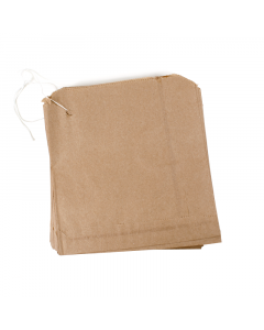 215 x 215mm Brown Bag 100Pk