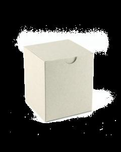 80x80x95mm Candle Box 10Pk. -DuoGrey