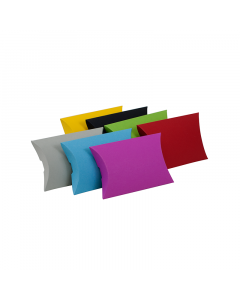 (85mm x 74mm x 20mm) Mini Pillow Box Colours 100Pk