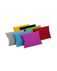 (100mm x 85mm x 25mm) Small Pillow Box Colours 100Pk