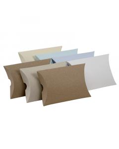 (122mm x 100mm x 30mm) Large Pillow Box Natural 100Pk
