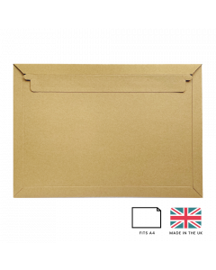 C4 Board Mailing Envelope (Kraft Brown)