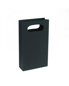 100 x 180 x 40mm Gift Bag - Black 10Pk.