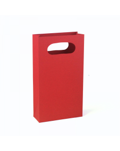 100 x 180 x 40mm Gift Bag 10Pk. -Scarlet