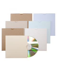 CD Sleeve Natural 10Pk