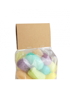 Small Cellulose Bag Header / Topper 100 Pk