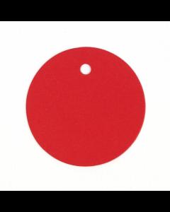 Circle Gift Tags 20Pk - Scarlet