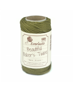 20m Cotton Twine - Olive