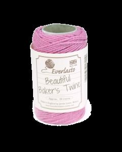 20m Cotton Twine - Rose Pink
