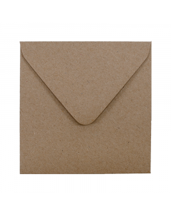 EV10 Envelope Hairy Manilla (Kraft Brown)