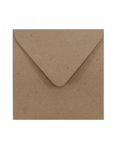 EV10 Envelope Ribbed Brown