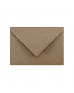 C5 Envelope Hairy Manilla (Kraft Brown)