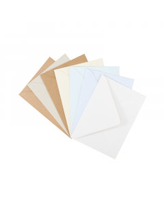 EV3 Recycled Envelope Natural 10Pk