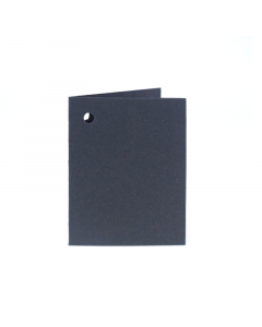 Folded Gift Tags 10Pk-Charcoal