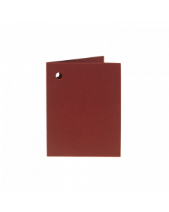 Folded Gift Tags 10Pk-Claret