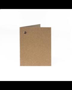 Folded Gift Tags 10Pk-HairyManilla