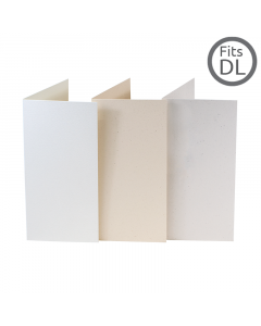 Single Fold Recycled Card Superior 10 Pk (99x210mm)
