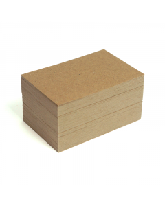 Blank Business Cards 100Pk - HairyManilla