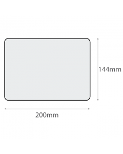 L2 Plain Recycled Labels (144x200mm)-White